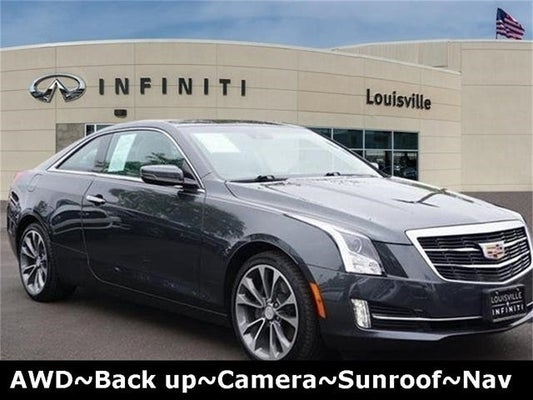 Cadillac Ats Coupe >> 2016 Cadillac Ats Coupe Premium Collection Awd